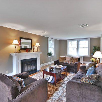 outstanding mega greige living room | Newark Home sherwin williams mindful gray Design Ideas ...