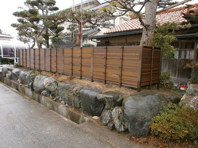 Pin van ben 3 h e wieseman op architecture fences afscheidingen schuttingen pinterest - Bamboe hek ...