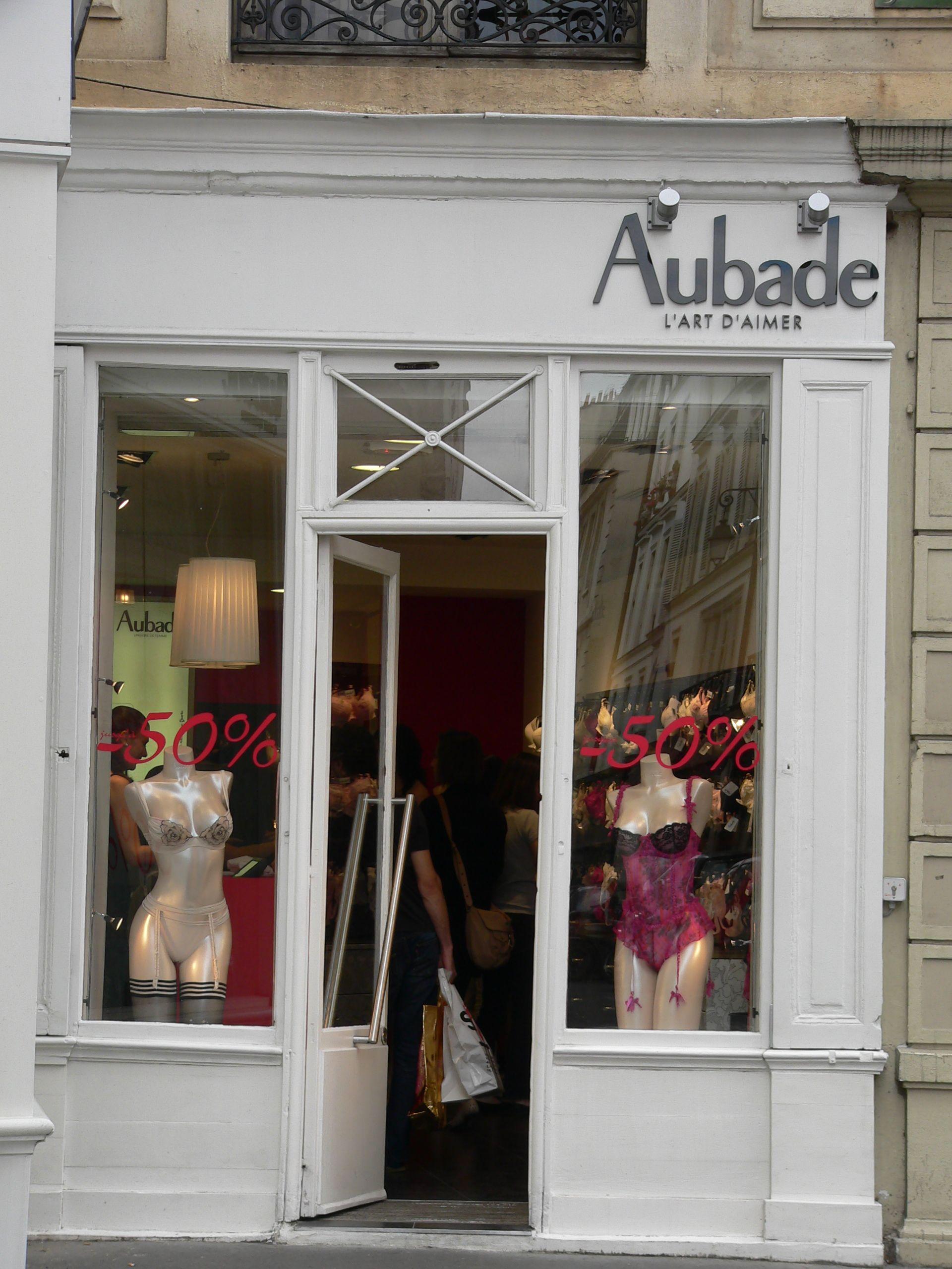 Vitrine Aubade - Paris - France