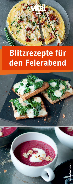 Blitzgerichte Nach Feierabend 93 Food Job Ideas
