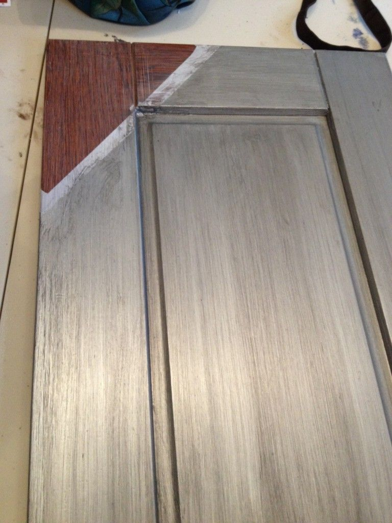 Painting Kitchen Unit Doors Convert Wood Cabinet Doors To Glass The Family Handyman Wood