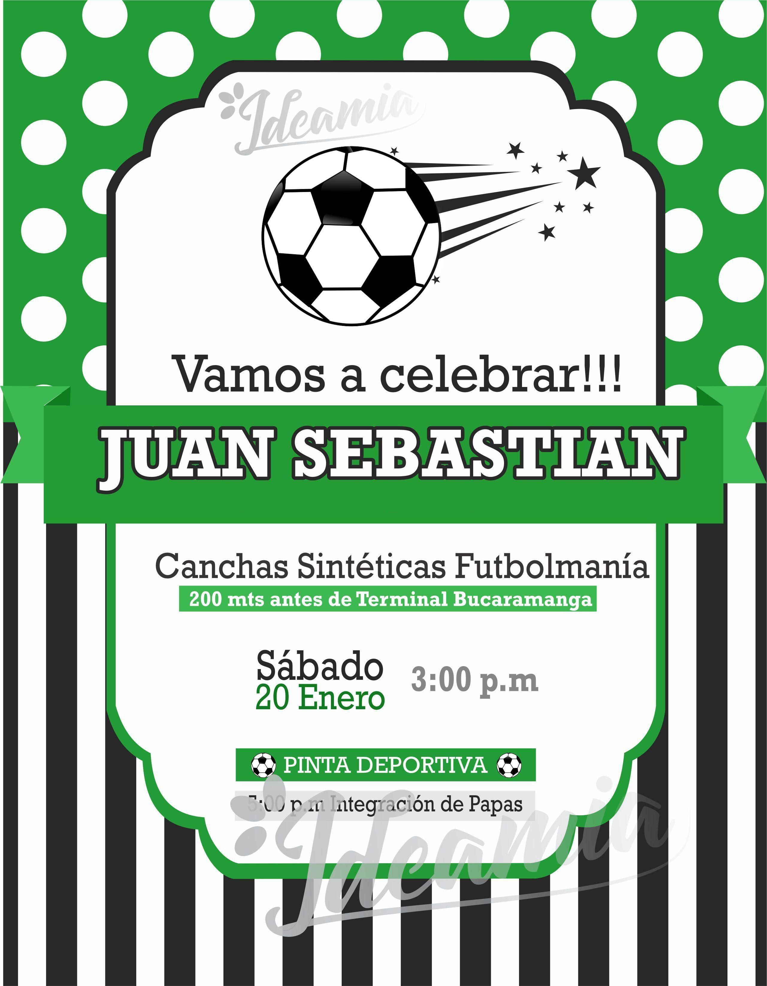 Diseño De Tarjeta De Invitación De Cumpleaños Tema