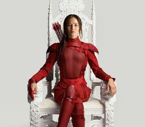 Check out the awe-inspiring new promo photo entitled 'Fallen Snow.' #HungerGames