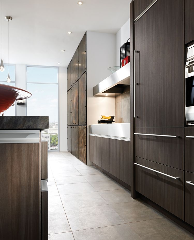 Contemporary Expressions Kitchen By #WoodMode, Shown In