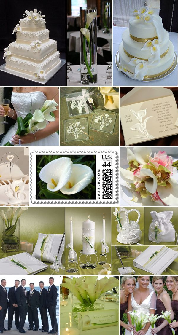 calla lily wedding inspiration board wedding pinterest top 10 best wedding themes favors and decoration ideas junglespirit Choice Image