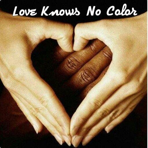 Love Knows No Color Interracial Love Black And White Love Interracial Art