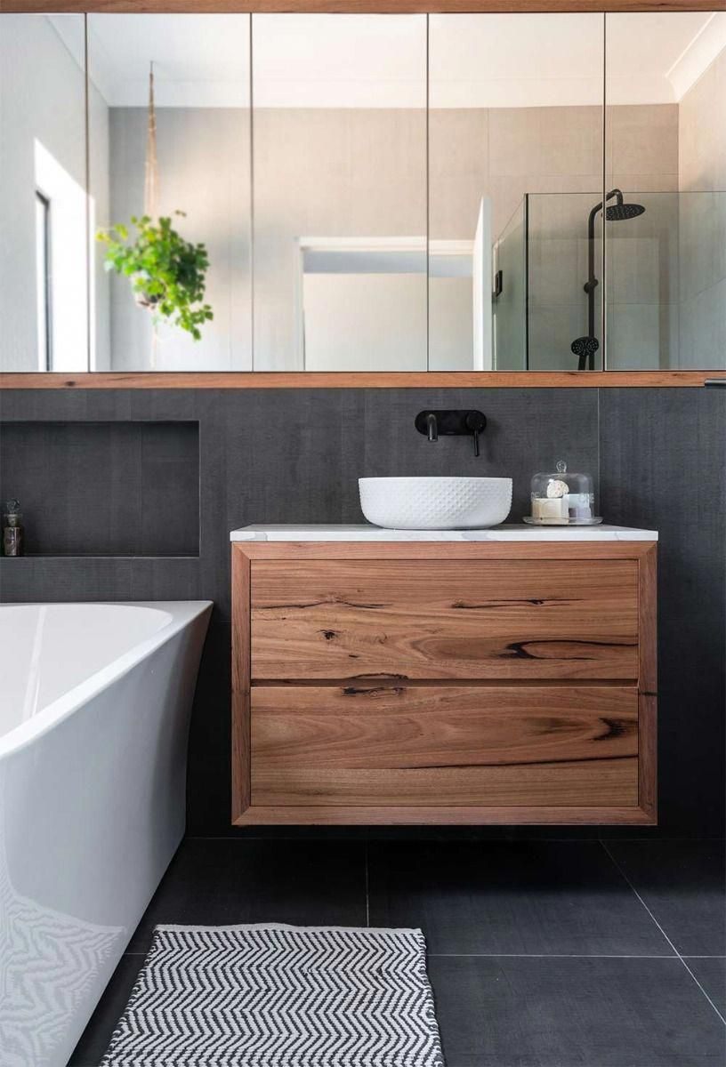 Consider This Important Photo And Look Over The Here And Now Guidance On Beautiful Bathrooms Ideas Timber Vanity Bathroom Interior Design Bathroom Design Important inspiration small bathroom