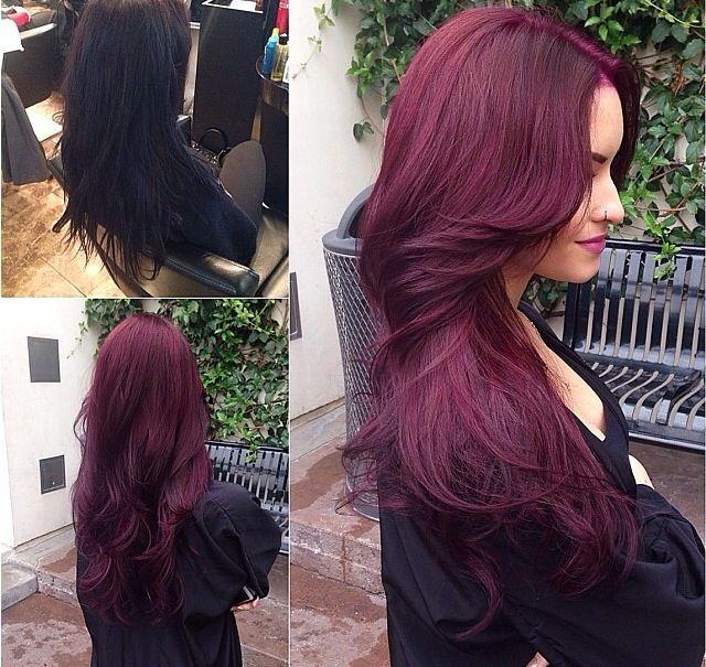 Hair Transformation Love This Color Long Hair Styles Hair Styles Hair Color Trends