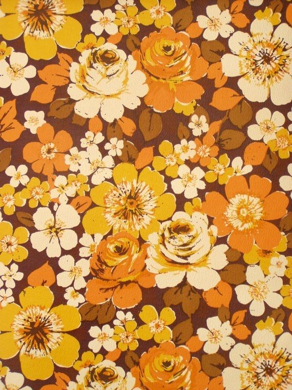 Original retro wallpaper & vinyl wallcovering from the ...  Original retro ...