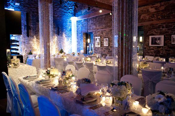 A Beautiful Winter Wonderland Wedding At The Courtyard Restaurant In Ottawa Ontario Photo