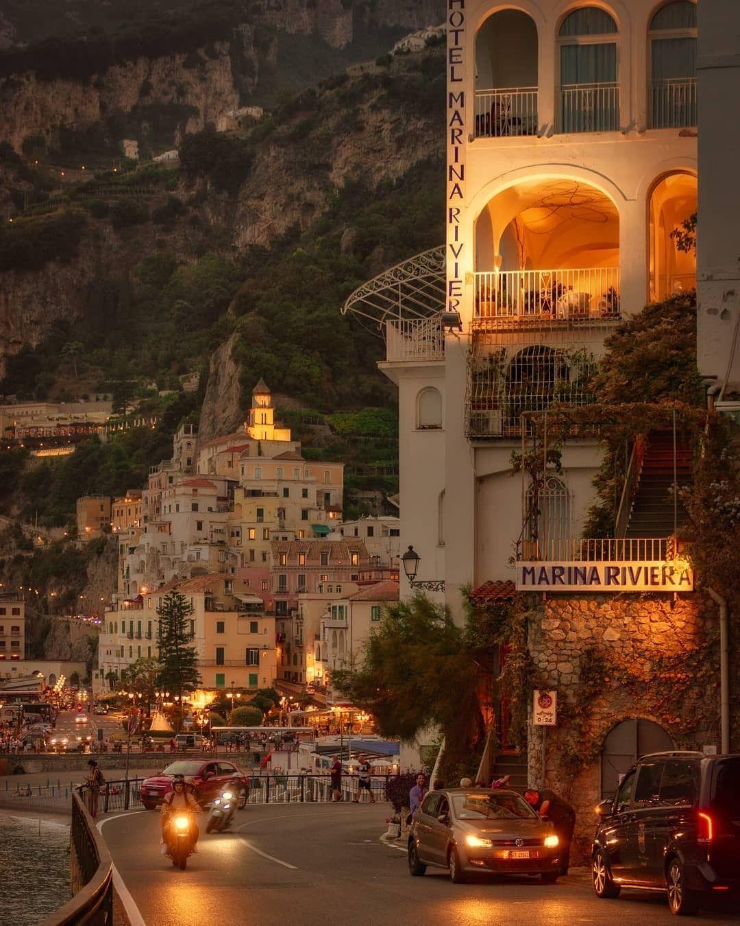 : Pictoturo - wanderlusteurope: An evening drive in Amalfi,. Pictoturo - wanderlusteurope: An evening drive in Amalfi,.