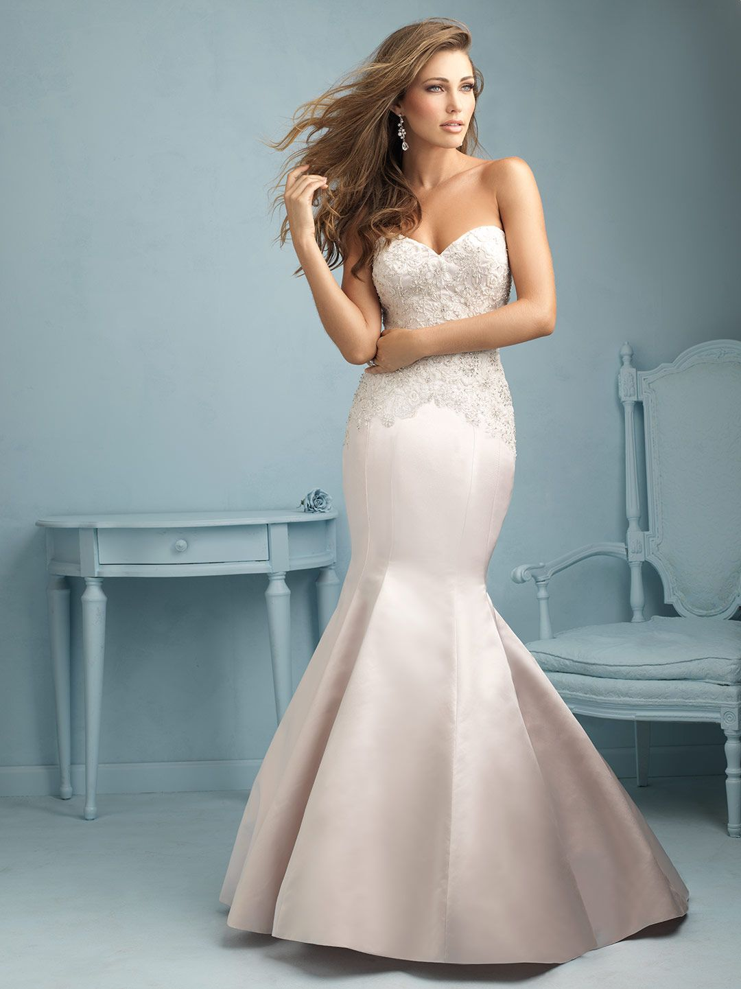 Style 9221   Wedding Dresses   Pinterest   Allure bridal, Wedding ...