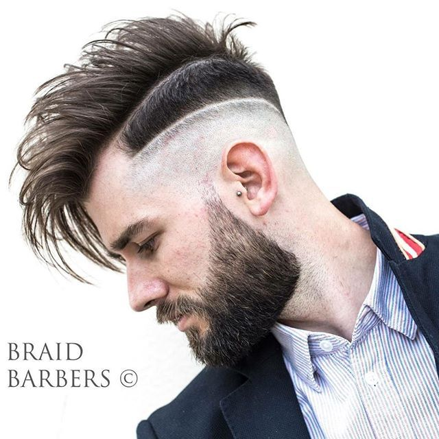 34+ Double line fade haircut inspirations