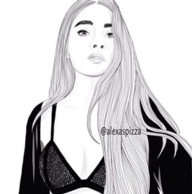 Pinterest Brittesh18 Menina Tumblr Desenho Girl