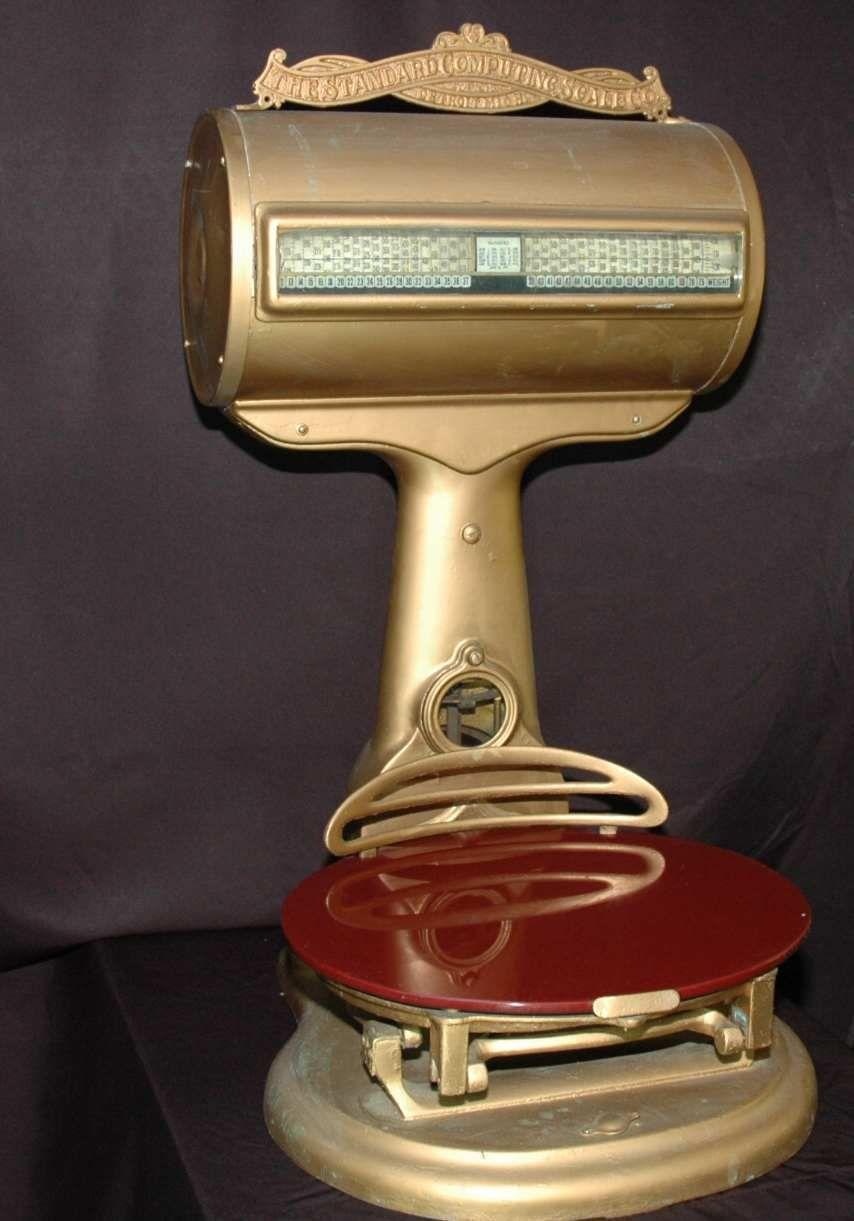 The Standard Computing Scale Co- Detroit MI- 1911 Scale - Complete ...