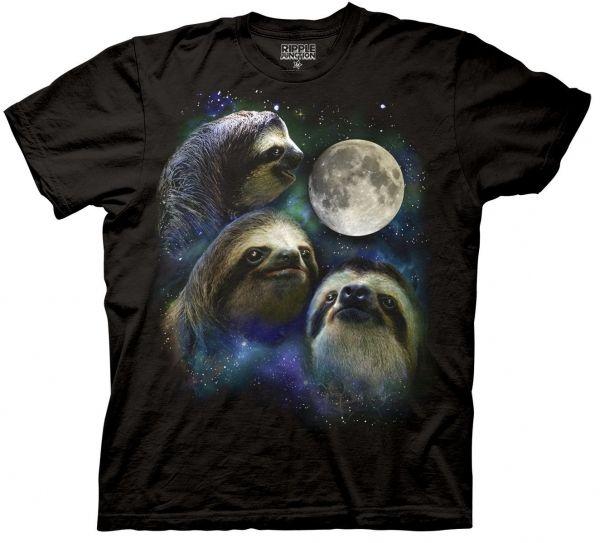Three Sloth Moon Klassiker mit Faultieren | Like general