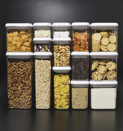 OXO Good Grips POP Rectangle 1 1/2 Quart Storage Container: Home U0026 Kitchen:  Amazon.com