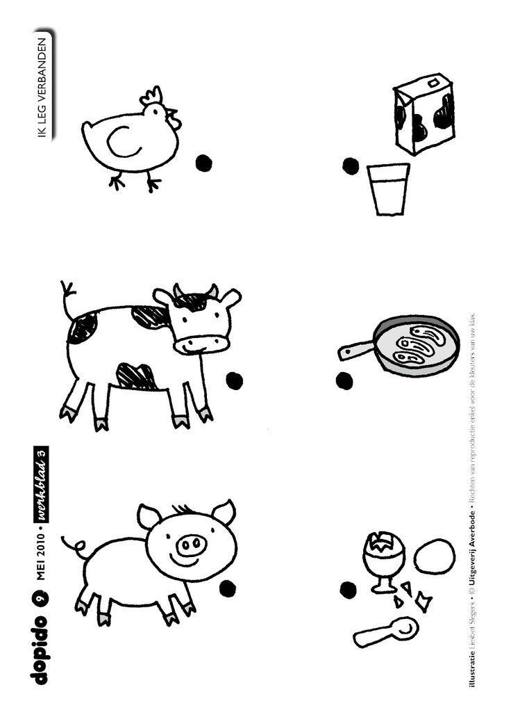 Ficha animales de la granja. Aprender que productos nos da cada ...