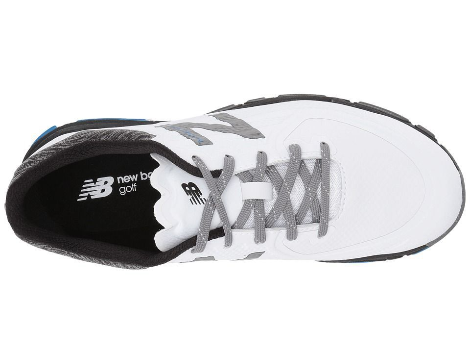New Balance Golf NBG1007 Minimus Tour. New Balance Golf NBG1007 Minimus  Tour Men s Golf Shoes White Black 3d9f56f9ebb