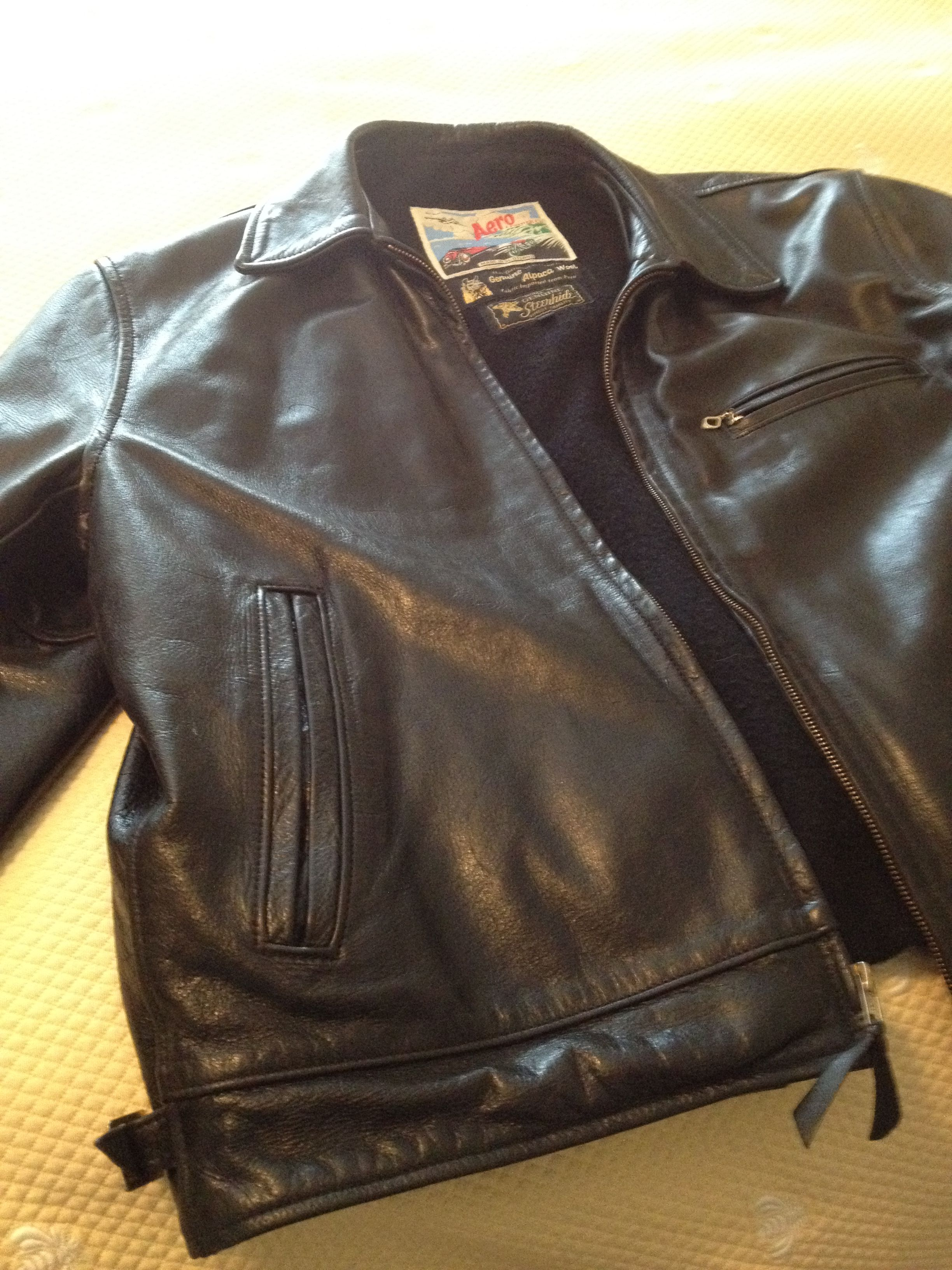 Aero Leather from Scotland. I have three of these