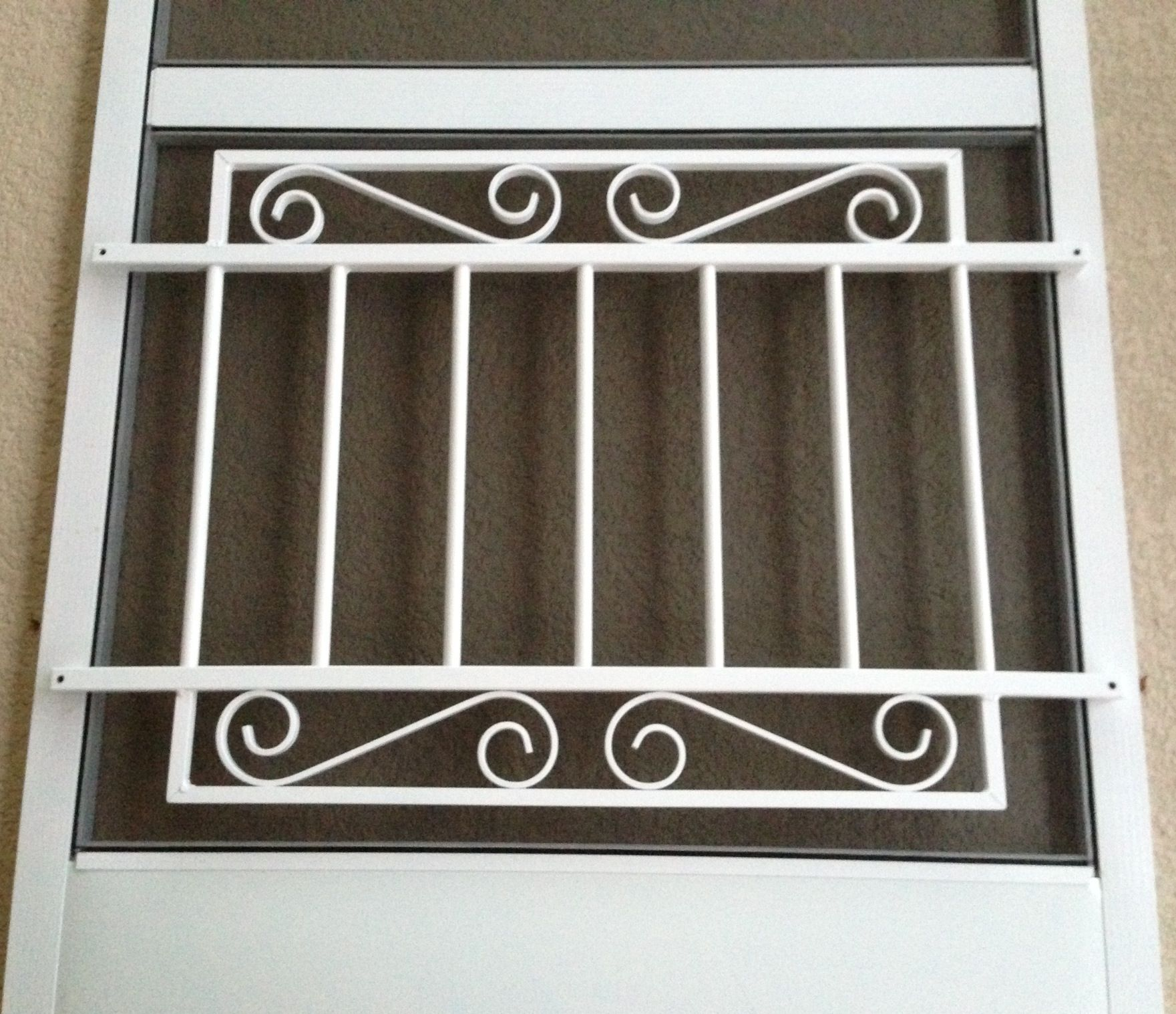 Screen door grille decorative protective by screendoorgrilles screen door grille decorative protective by screendoorgrilles 6000 decorative aluminum screen door grilles pinterest screens doors and aluminum vtopaller Image collections