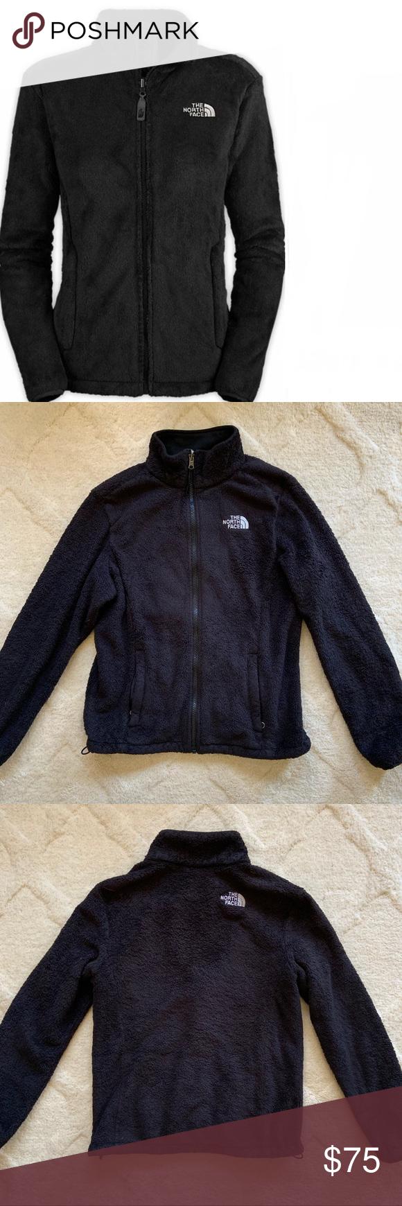 North Face Black Fuzzy Fleece Zip Up Jacket Good Pre Owned Condition Fuzzy Fleece Zip Up Jacket Please Not Black North Face North Face Jacket Clothes Design [ 1740 x 580 Pixel ]