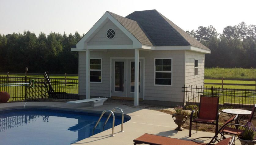 20 X 30 Pool House Plans