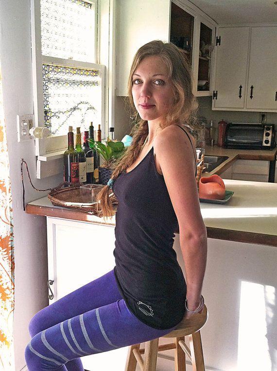 "organic cotton indigo sky everyday yoga leggings @Natasha Marchewka-Helmer people  ""you are as beautiful, bold, and natural as indigo"" <3"