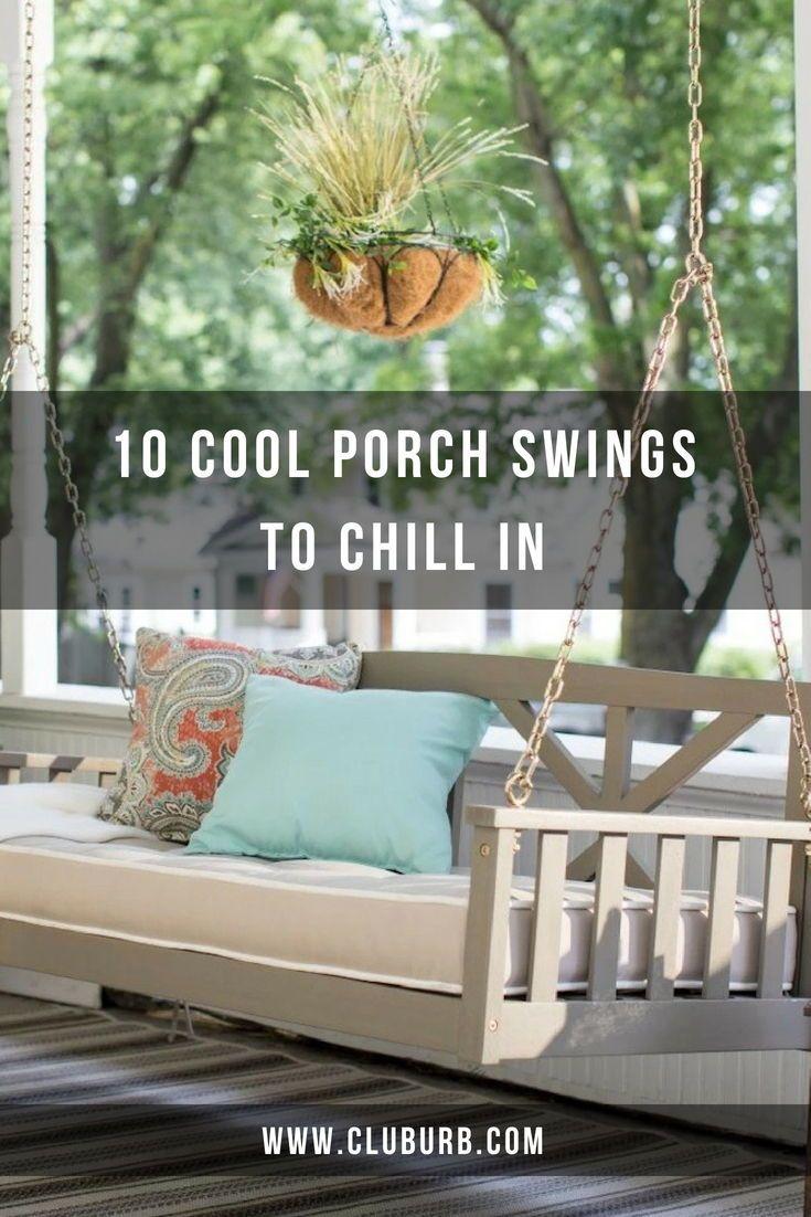 Porch swings best garden outdoor and patio swings in