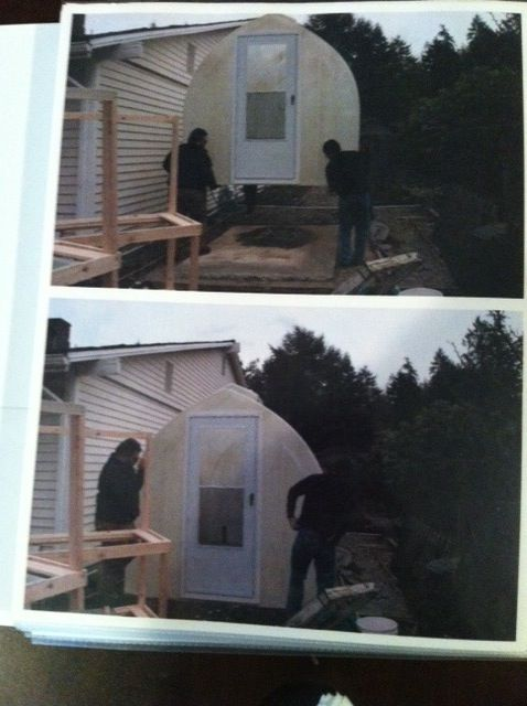 Delivering a Solar Gem greenhouse www.solargemgreenhouses.com