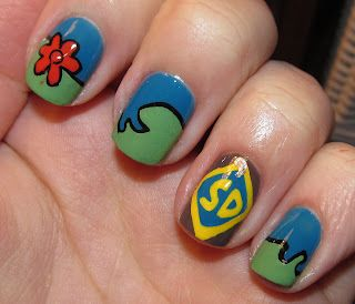 scoobydoo nails with images  nails fun nails pretty