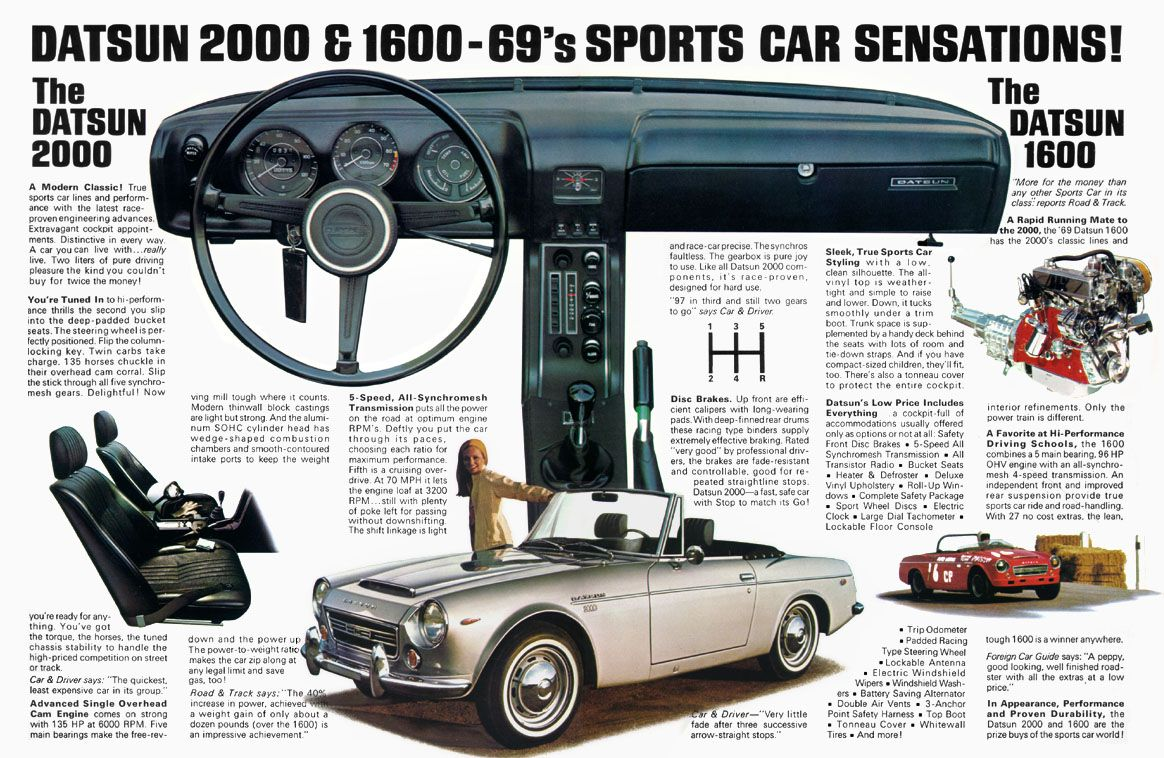 Datsun sports cars | datsun 510 | Pinterest | Sports cars, Cars and ...