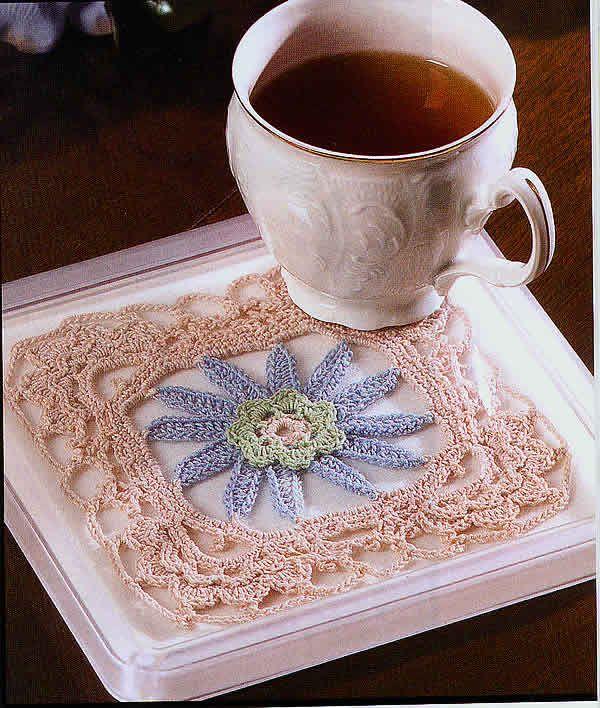 Talking Crochet ... Water Lily Motif