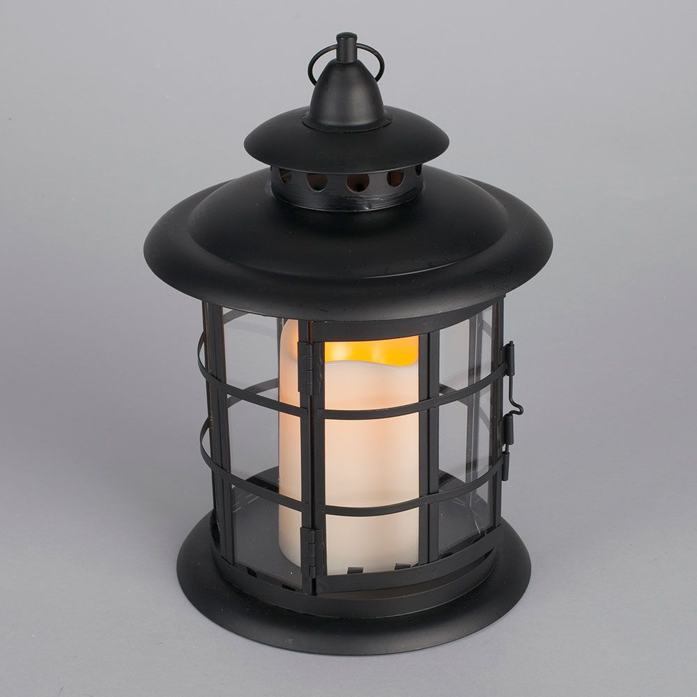 Led Metal Resin Battery Operated Flameless Candle Lantern Round Candle Lanterns Lantern Candle Decor Flameless Led Candles