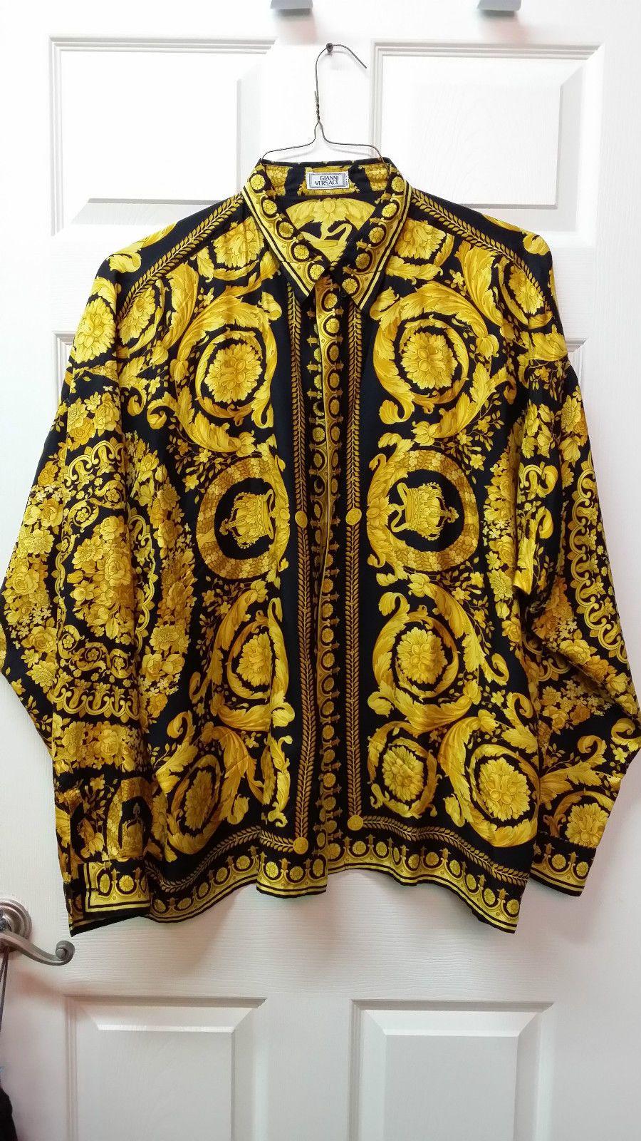 67b2bde7b Gianni Versace Silk Shirt