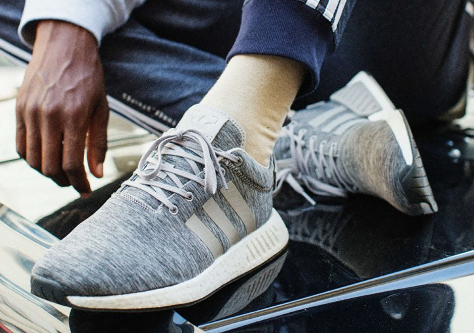 ccd62bfd31934 SneakersNStuff teamed up with adidas Originals for the adidas NMD R2 Grey  Melange Pack out June 28th in 2 unique colorways. Details here