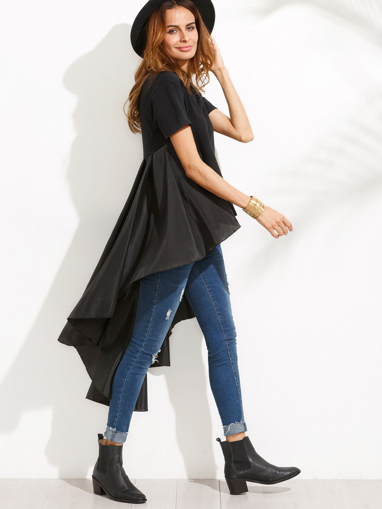 Ruffle Tail online. SheIn offers