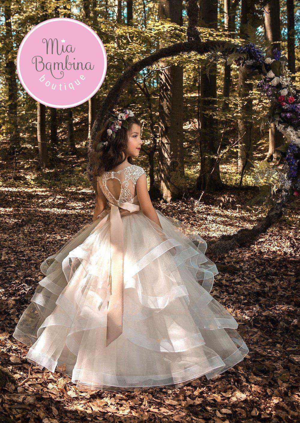 Flower Girl Dresses Salamanca Свадьба, Детские платья и