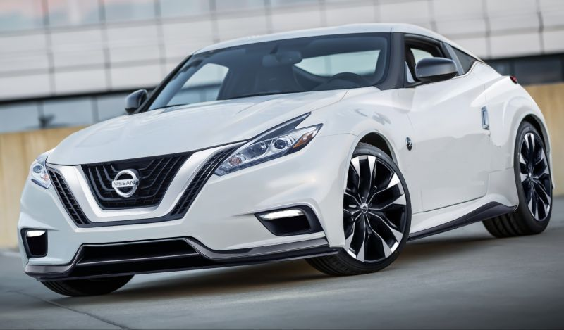 The Upcoming 2020 Nissan 400z Model Will Also Offer The Headlights That Are Similar To The Nissan Sentra S Headlight Units Nissan Z Cars Nissan Z Nissan