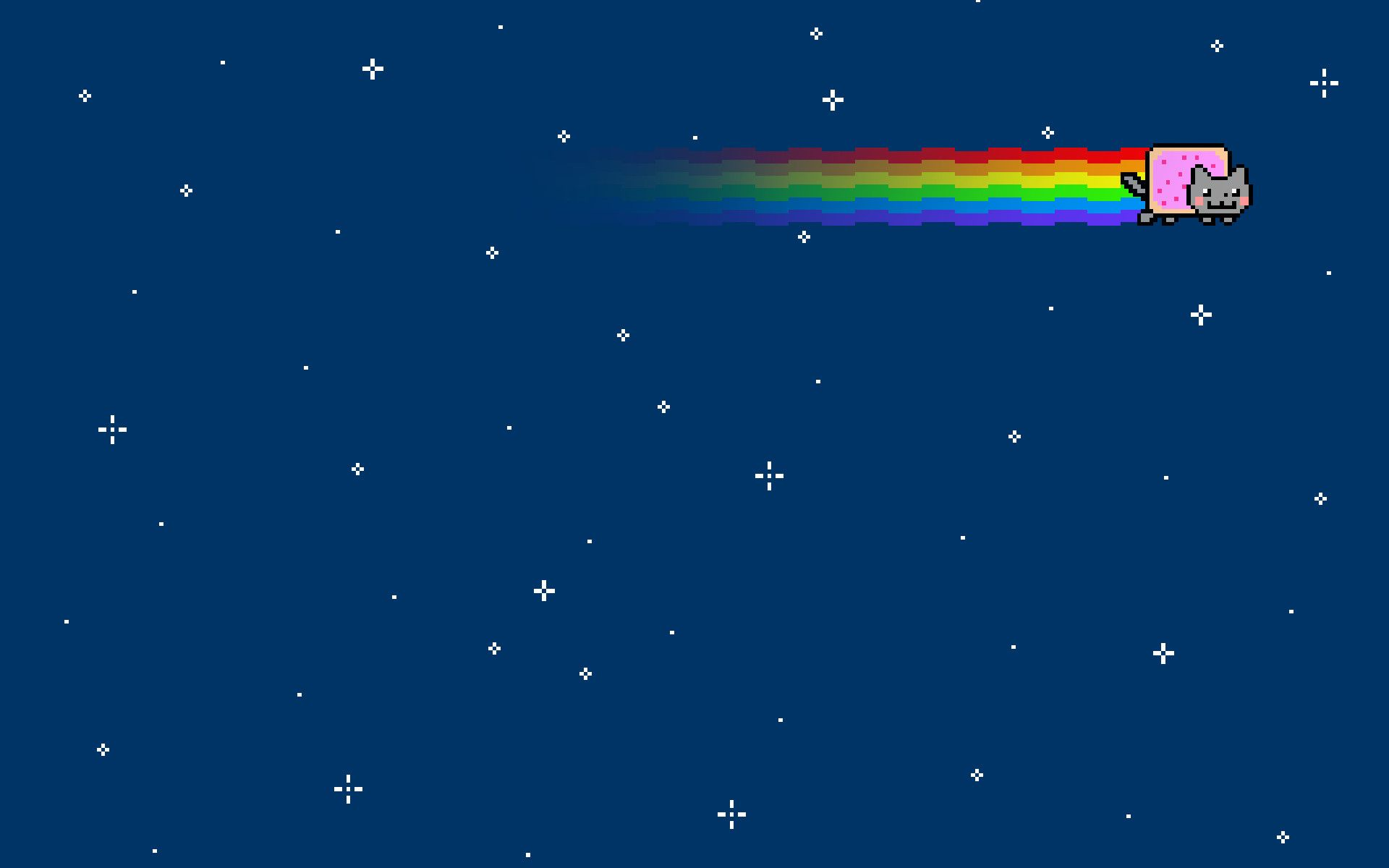 Res 1920x1200 Outer Space Cats Rainbows Nyan Cat Wallpaper 21786 Wallpaperup Cheshire Cat Wallpaper Nyan Cat Cat Wallpaper