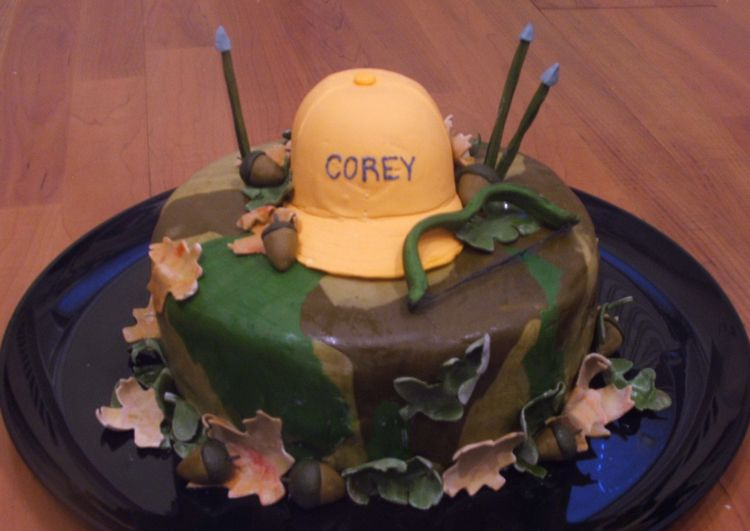 Archery Hunting Birthday Cake This is a cake I did for my