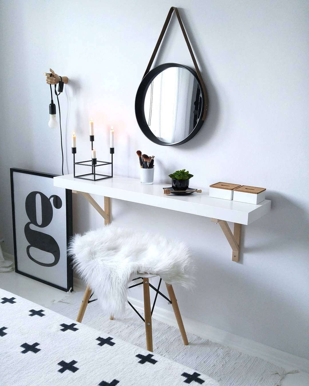 21 Makeup Vanities That Are Total Goals Home Decor Apartment