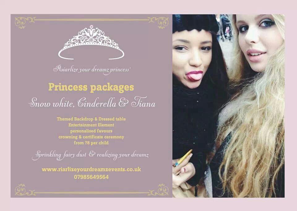 London princess visit birthdaygram birthday parties