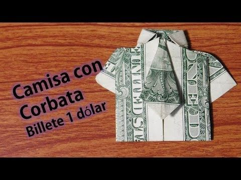 Improved Dollar Origami Shirt Make A Dollar Bill Shirt With
