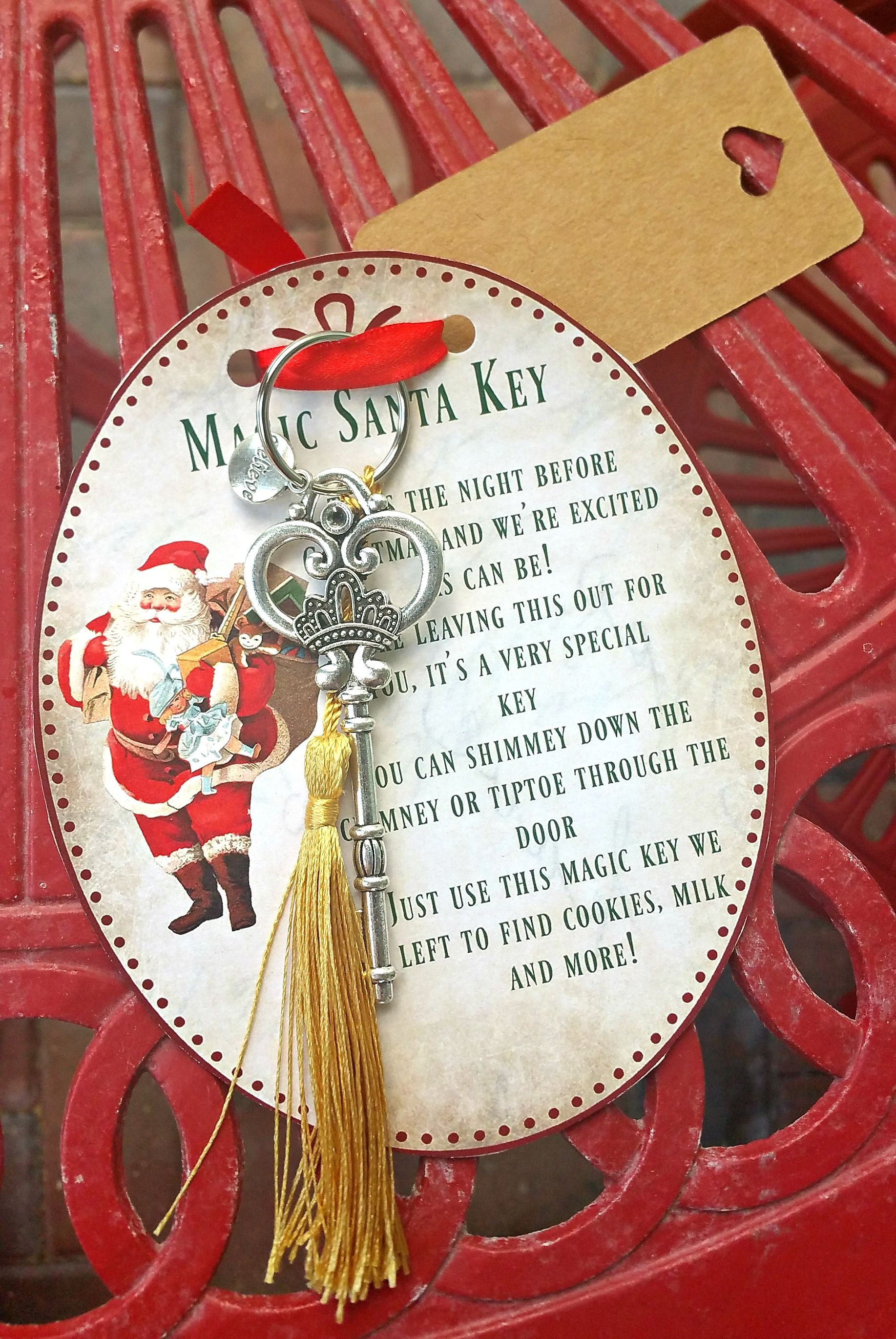 Magic santa key how to with free printable poem christmas diy magic santa key how to with free printable poem m4hsunfo Images