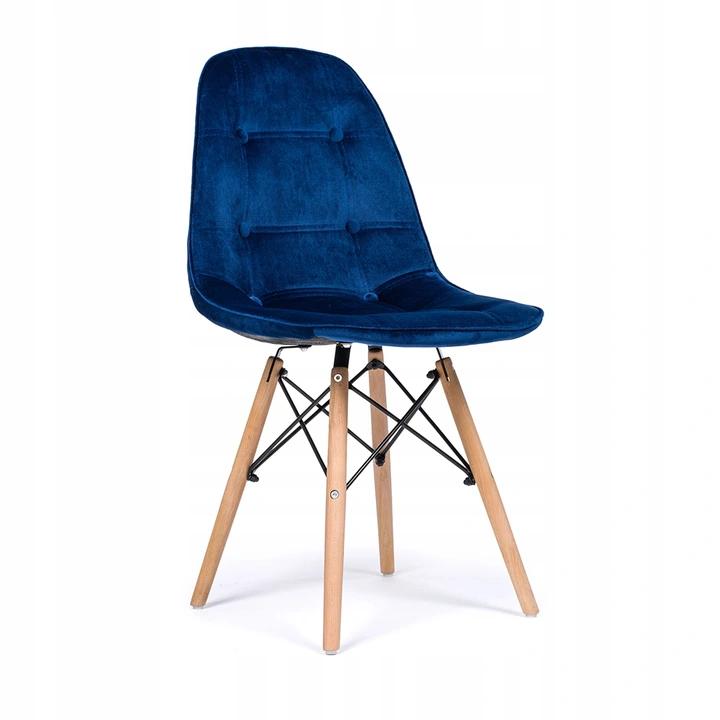 Krzeslo Tapicerowane Pikowane Skandynawskie Welur 129 Zl Allegro Pl Raty 0 Darmowa Dostawa Ze Smart Kluczbork Stan Nowy Chair Eames Chair Eames