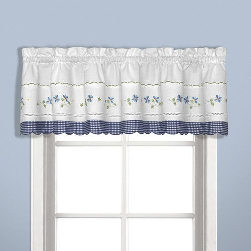 Found It At Joss Main Graham Curtain Valance Gingham Curtains