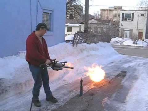 Flamethrower Snow Removal Google Search Reference Images Snow