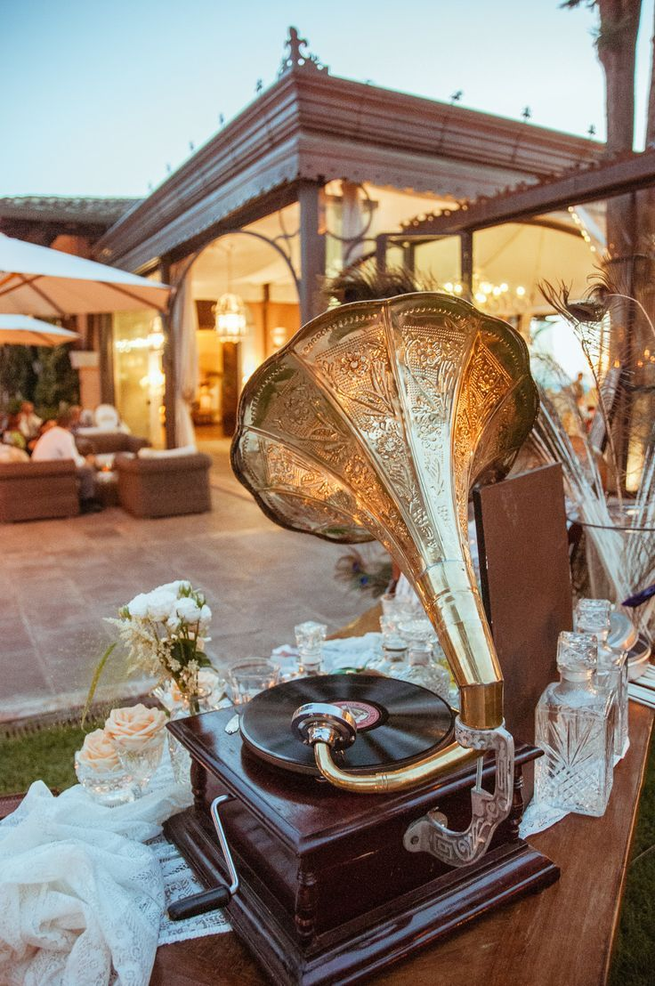 Garden party inspiration  Great Gatsby Inspired Garden Party Wedding in Tuscany  Garden party