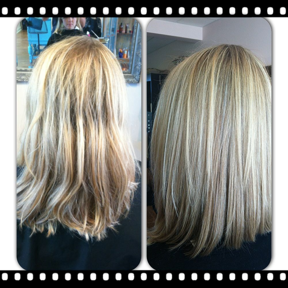 long bob hairstyles with blonde highlights hair. Black Bedroom Furniture Sets. Home Design Ideas